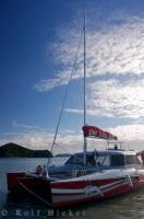 Catamaran Sailboat Paihia