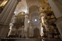 Granada Cathedral Entranceway Andalusia Spain