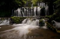 Catlins Waterfall New Zealand