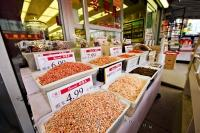 In the City of Toronto, Ontario, one can wander through Chinatown and find a variety of market stores selling all sorts of food items.