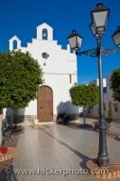 The Ermita de San Roque in the town Sorbas, Province of Andalusia in Spain, is dedicated to a 13th century Christian saint who gave comfort in the time of the Black Death.