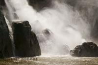 Situated near Rimouski, the Chute Neigette is a powerful waterfall in the province of Quebec.