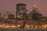 Stock Photo of Montreal City Scape in Quebec, Canada