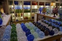 Colored Glass Biot Provence