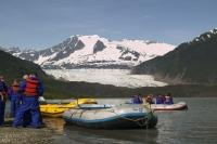 A rafting adventure is a popular cruise shore excursion