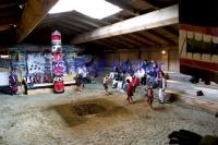 Traditional Dancing In Long House