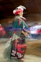 Traditional Culture Dance in original blanket