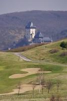 There is nothing like taking a golf vacation to the Czech Republic in Europe and enjoying the sights of Karlstein Castle at the same time.