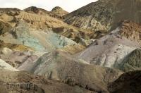 The Artists Palette is a great drive for interesting desert photos in Death Valley, California, USA.