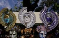 These decorative masks can be found in the delightful market stalls along the Riva degli Schiavoni, one of the most popular promenades in Venice, Italy.