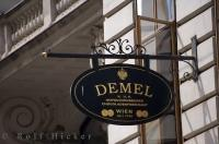 The bakery for the imperials, Demel Bakery in the city of Vienna Austria was established in 1786.