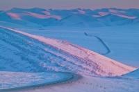Picture of the Dempster Highway in the Yukon Territory in Winter