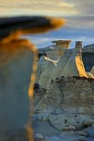 Bisti Wilderness Desert Geological Formations