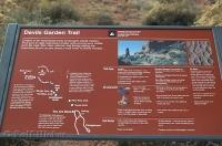 Devils Garden Trail Sign Arches