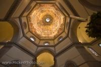 Under the dome in the Cathedral of Santa Maria dei Fiori in Florence, Italy, the outstanding masterpiece is an unforgettable sight.