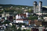 The historic buildings are part of the charm of the downtown core of St. Johns, Newfoundland in Canada.