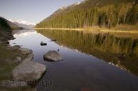 A beautiful lake located in British Columbia is Duffy Lake, an ideal recreational area for family vacations.