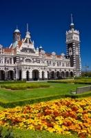 The Dunedin Railway Station, which opened in 1906 in Dunedin City in Otago on the East Coast of the South Island of New Zealand, is one of the most recognizable buildings in the area. This is the fourth building to serve as the railway station.