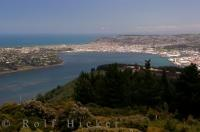 From atop the Signal Hill Scenic Reserve you have a beautiful view of the city of Dunedin, Otago located on the East Coast of the South Island of New Zealand.