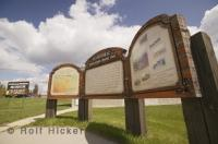 The Galloway Station Museum in Edson, Alberta, Canada is situated in Centennial Park.