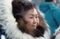 It is not unusual to see the Eskimo people in traditional garb even in today's modern Alaska.