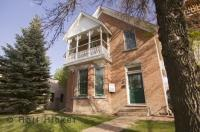 The Ewart Duggan House situated in Medicine Hat, is the oldest standing brick house in Alberta, Canada.