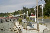 The town of Alert Bay is situated on Cormorant Island on Northern Vancouver Island and is only accessible by boat or plane.