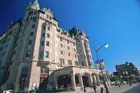 The Fairmont Chateau Laurier is a great landmark that represents the style that Ottawa, Canada promotes.