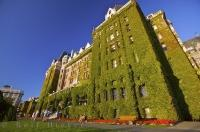 Situated along the waterfront in downtown Victoria, British Columbia, is the Fairmont Empress Hotel, an iconic, landmark building in the capital city.