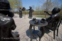 Bronze Statues Famous Five Women Ottawa