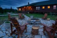 At this fishing lodge known as the Rifflin'Hitch Lodge in Southern Labrador you will find yourself in paradise and treated like royalty.