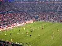 Football Game Allianz Arena Munich Germany