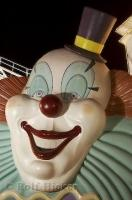 A funny clown face at the Boardwalk Hotel and Casino in Las Vegas, Nevada.