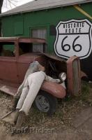 An interesting concept which makes for a funny picture along the Historic Route 66 in Seligman, Arizona.