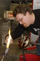 Glassblowing Artist