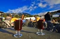 On a cool winters day after skiing on Whistler and Blackcomb Mountains in British Columbia, Canada, there's nothing quite like sitting in a apres-ski bar drinking hot gluehwein, otherwise known as mulled wine.