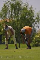 Golf etiquette is a very important part of golf at the Oliva Nova Golf Course in Valencia, Spain.