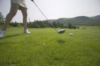 Stock photo of Golf Greens in Newfoundland, Canada
