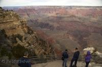 Over four million visitors travel to see the Grand Canyon in Arizona, each year.