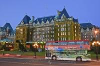 Gray Line Tourist Bus Empress Hotel