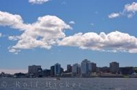 Halifax City Skyline Nova Scotia Canada