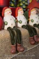 Handcrafted Christmas Ornaments Snowmen Hexenagger Castle Markets Germany