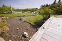 The Nikka Yuko Japanese Garden is situated in Henderson Lake Park in Lethbridge, Alberta, Canada.