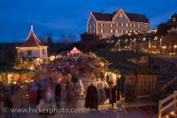 Hexenagger Castle Christmas Markets Bavaria Germany Europe
