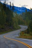 Highway Slocan Valley Kootenay British Columbia Mountains