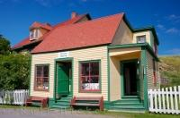 The Hiscock House in the town of Trinity in Newfoundland, Labrador is considered a historic site that visitors can tour to see and read about the life of Emma Hiscock.