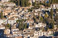 City Of Granada Historic Buildings Albayzin District Andalusia Spain