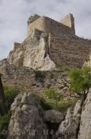 Historic Castle Morella Castellon Spain