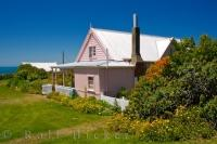 The historical Fyffe House along the coastline of Kaikoura on the South Island of New Zealand is known to be the oldest house around the region.