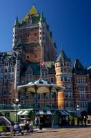 The castle like features of the Fairmont Le Chateau Frontenac in Quebec City is a hotel that is just as spectacular on the outside as it is on the inside.